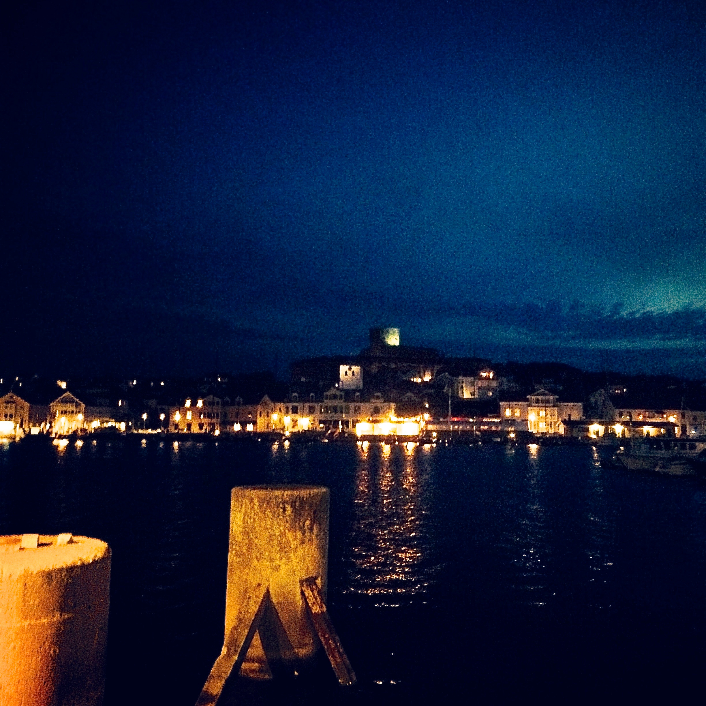Marstrand by night